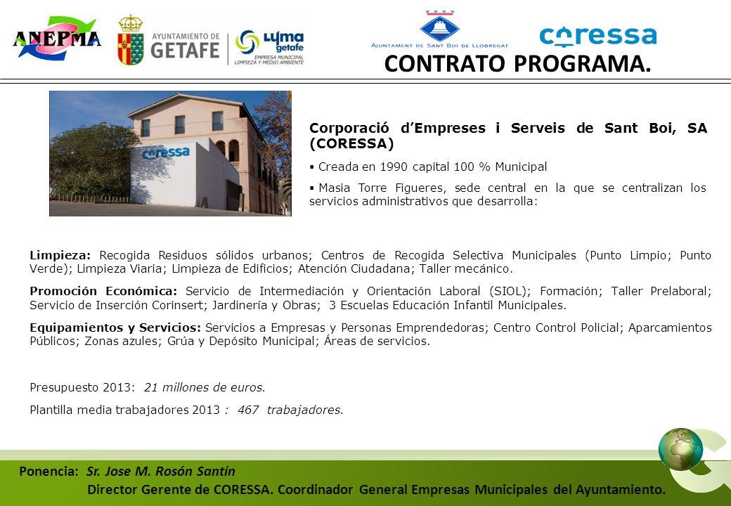 EMPRESA MUNICIPAL AYUNTAMIENTO FINANCIACIÓN NO ADAPTADA AL COSTE Y CALIDAD DE LOS SERVICIOS ENCARGOS DE GESTIÓN DESFASADOS CON LA REALIDAD DEL SERVICIO OBJETIVOS ESTATUTARIOS AUTONOMÍA DE GESTIÓN RECURSOS PRESUPUESTARIOS INSUFICIENTES SERVICIOS PÚBLICOS: ENCARGOS DE GESTIÓN POLÍTICOS – OBJETIVOS INDEFINIDOS NECESIDAD DEL CONTRATO PROGRAMA CONTRATO PROGRAMA.