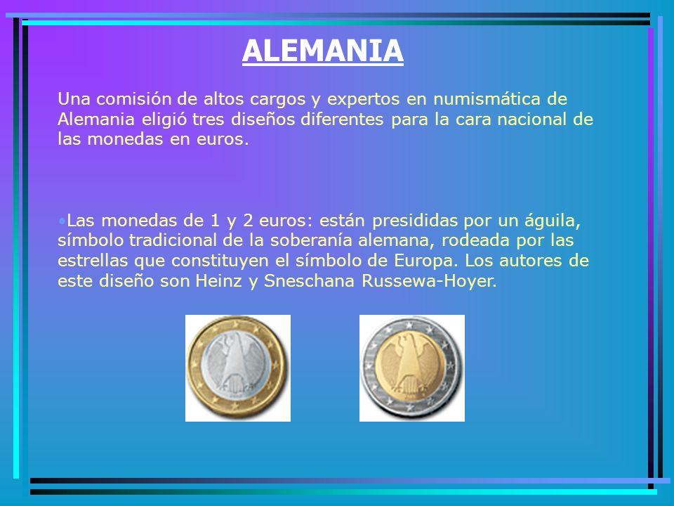 La cara nacional de las monedas en euros correspondientes a Bélgica contiene elementos de las monedas actualmente en circulación en este país.