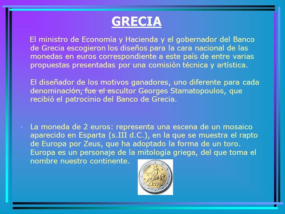 Las monedas de 1, 2 y 5 céntimos: reproducen la rama de roble que aparece en los pfennig o peniques actuales.