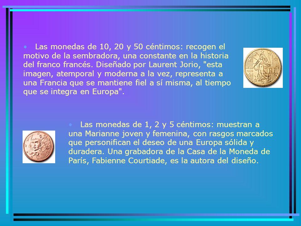 FRANCIA Para la cara nacional francesa de las monedas en euros se examinaron más de 1.200 diseños.