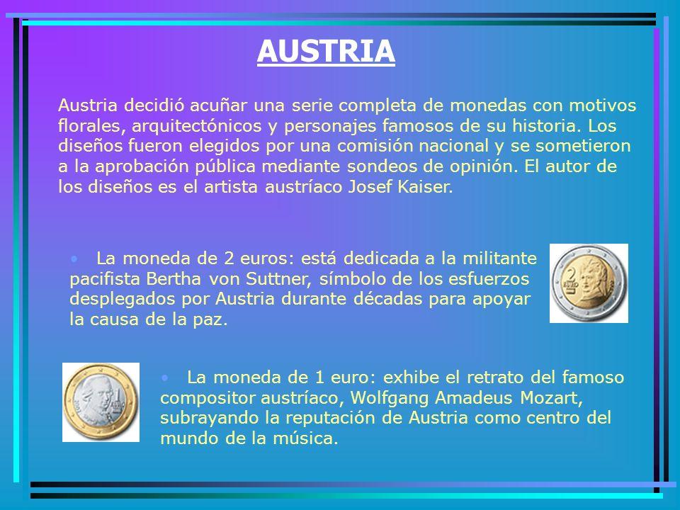 PAÍSES BAJOS Las caras nacionales de las monedas de los Países Bajos muestran dos imágenes diferentes de la reina Beatriz.
