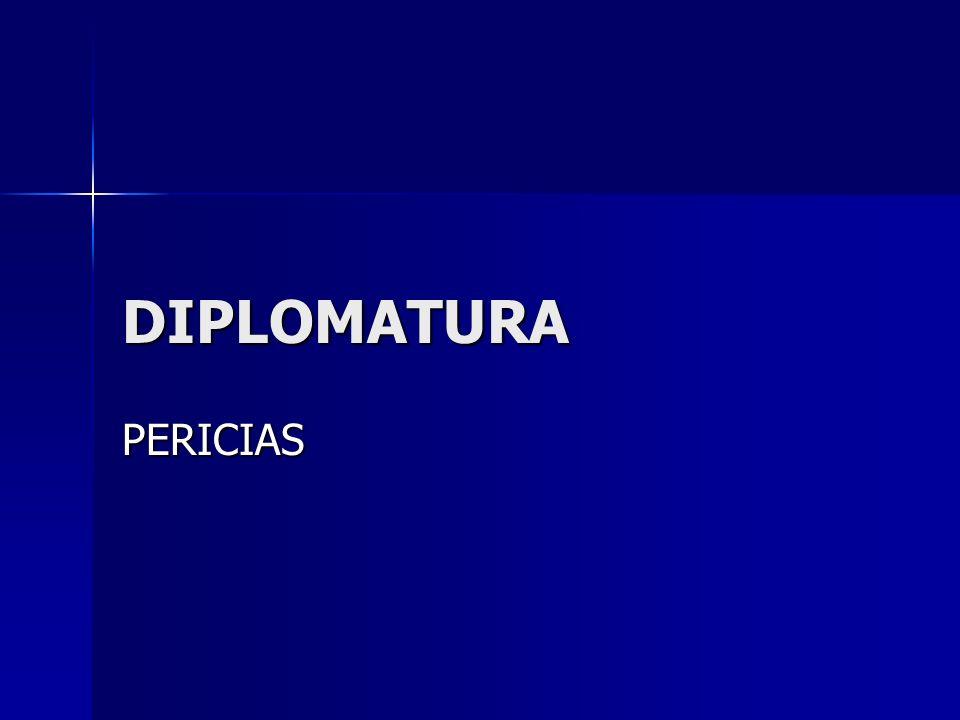 DIPLOMATURA PERICIAS
