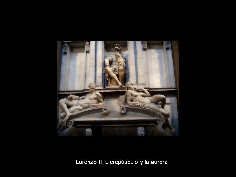 Lorenzo II. L crepúsculo y la aurora