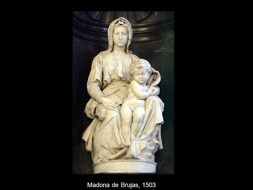 Madona de Brujas, 1503