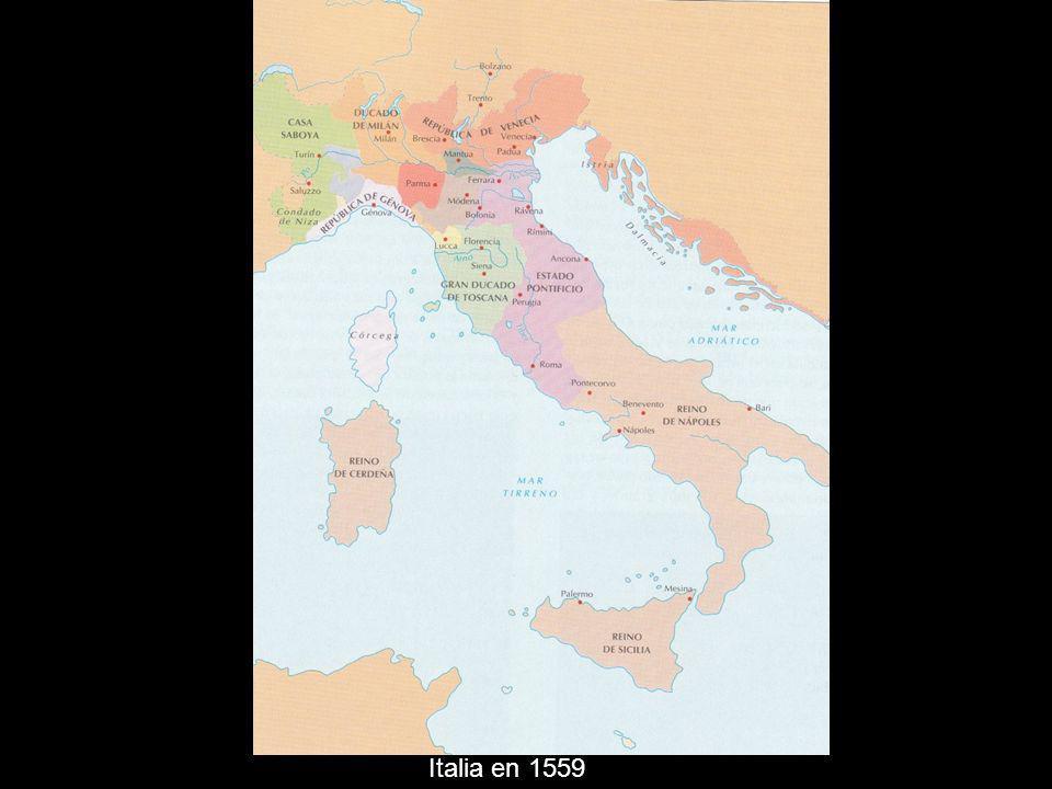 Italia en 1559
