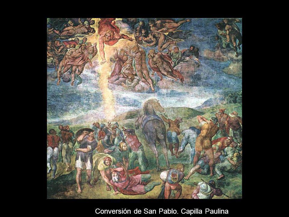 Conversión de San Pablo. Capilla Paulina