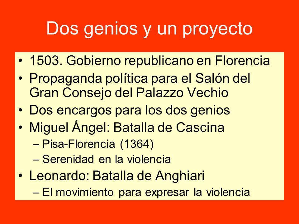 Dos genios y un proyecto 1503.