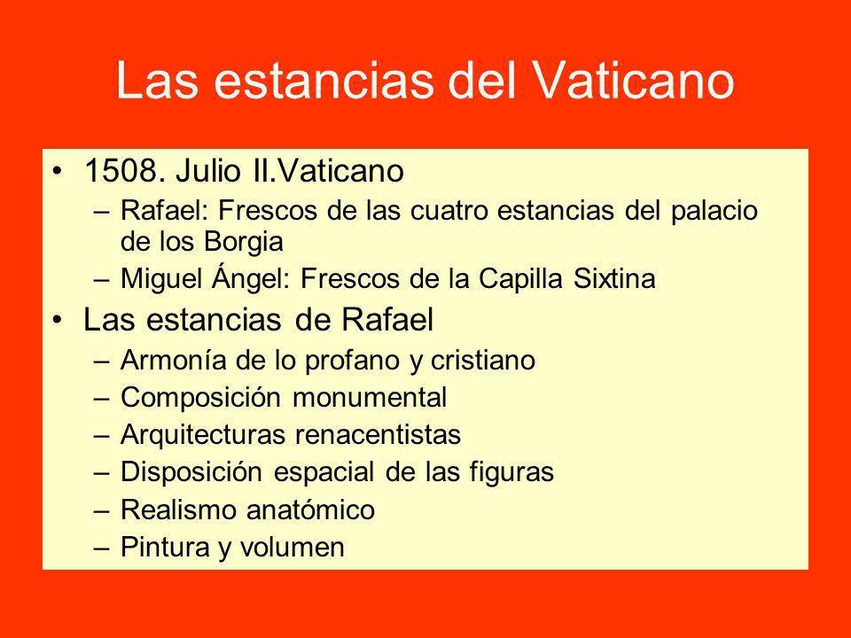 Las estancias del Vaticano 1508.