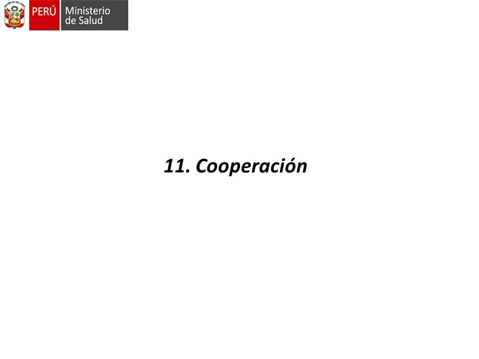 11. Cooperación