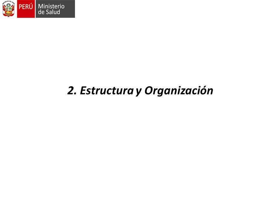 2. Estructura y Organización