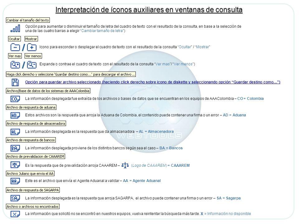 La información desplegada fue extraída de los archivos o bases de datos que se encuentran en los equipos de AAAColombia – CO = Colombia Estos archivos