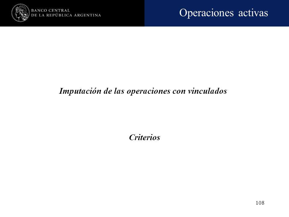 Operaciones activas 107 Prohibición No se admite acordar -directa o indirectamente- nuevo financiamiento o renovación, prórroga, espera (expresa o tác