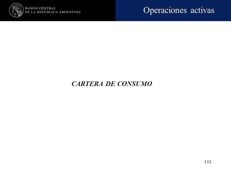 Operaciones activas 131 Elementos para la evaluación de la cartera comercial Al momento del otorgamiento Flujo de fondos Pautas adicionales y garantía