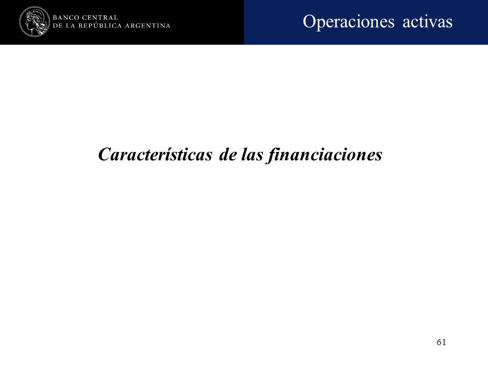 Operaciones activas 60 Préstamos para microemprendedores -cont.- Criterio de evaluación Deberán utilizarse metodologías que prevean, entre otras técni