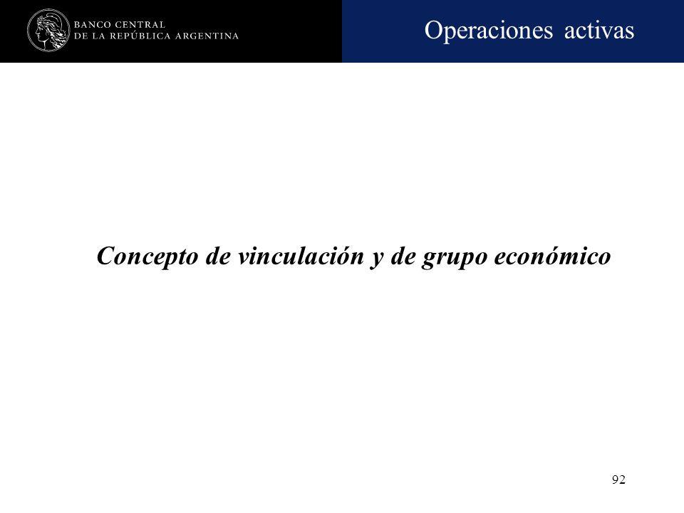 Operaciones activas 91 Operaciones no admitidas Operaciones con moneda extranjera y/o con metales preciosos. Concertación de operaciones de pase y a t