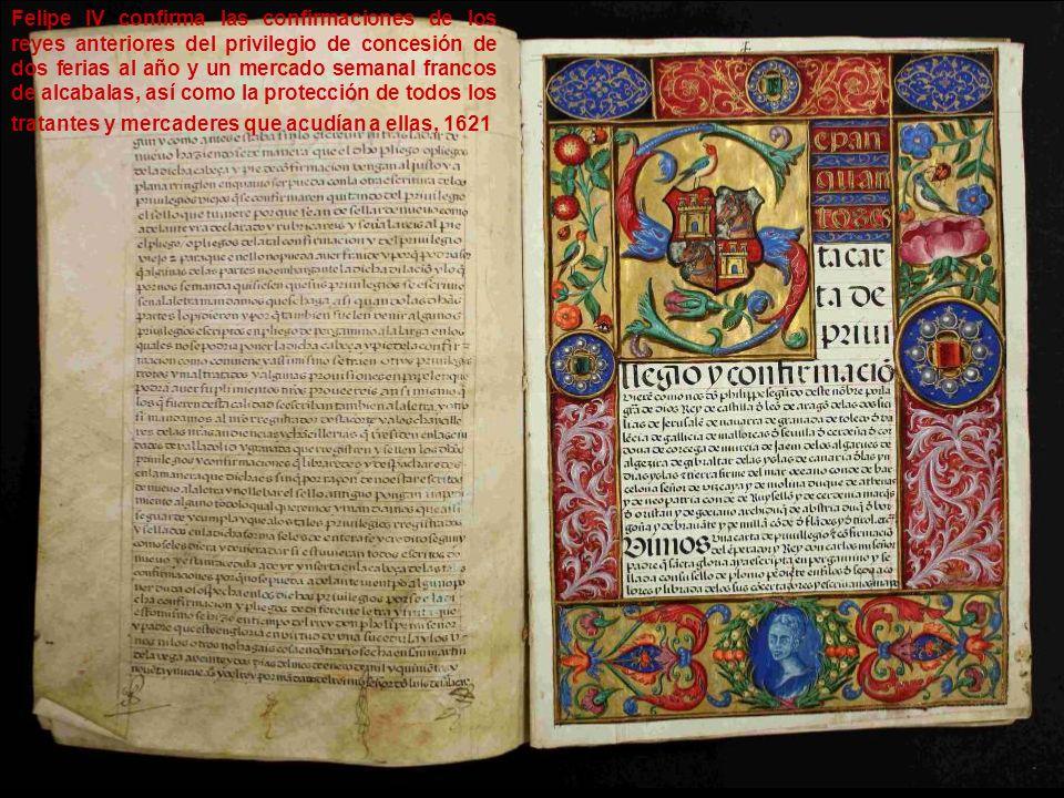 Los reyes Católicos derogan la supresión de las ferias de todo el reino, que habían ordenado en 1489, permitiendo que se vuelvan a celebrar las de Medina de Rioseco con las mismas protecciones y exenciones que anteriores, 1501