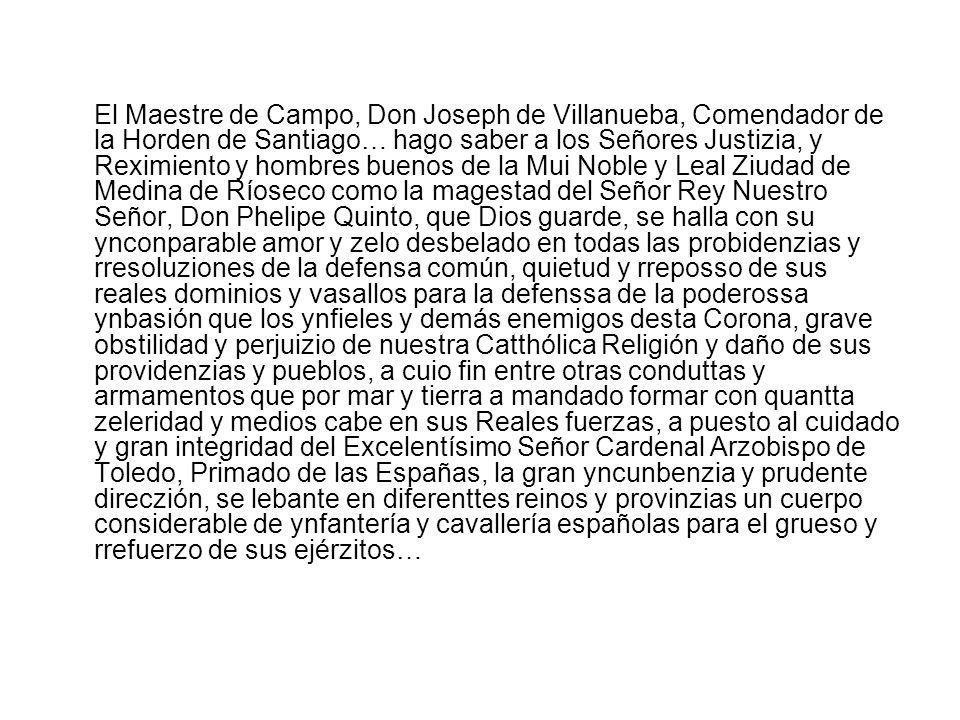 Acta del Concejo en la que se recoge el acuerdo de celebrar misa solemne para conmemorar la victoria de las tropas de Felipe V, 1703
