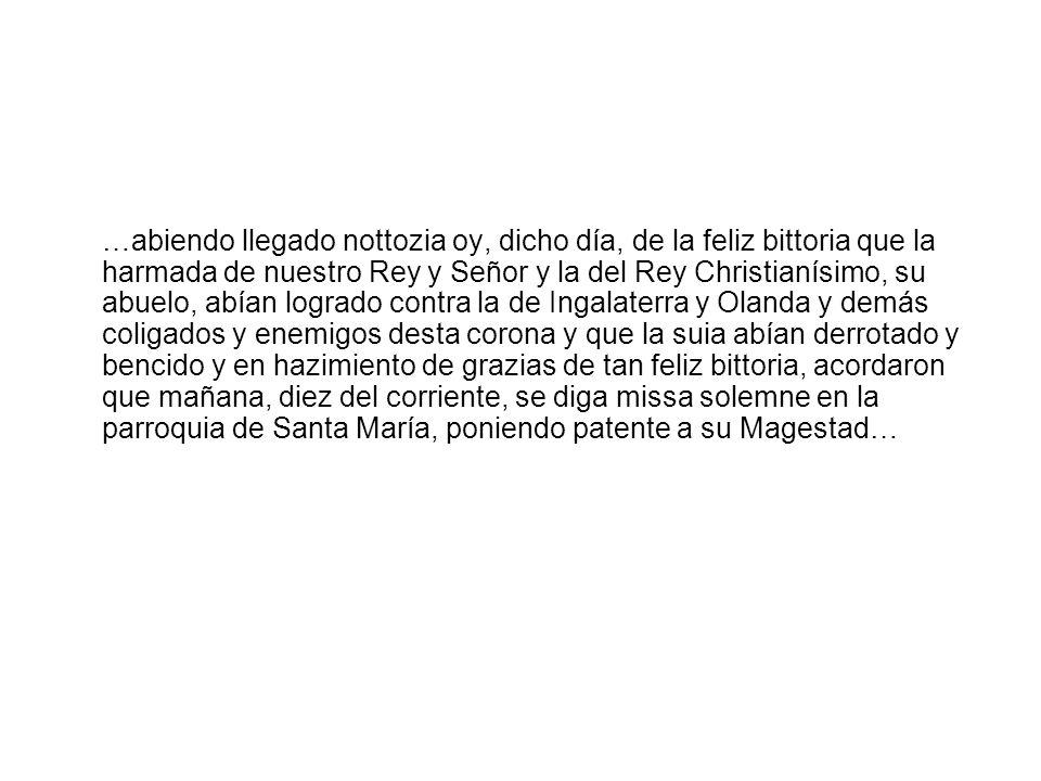 Instrucción real por la que Felipe V agradece la contribución para la guerra de mil doblones hecha por la Ciudad de Ríoseco, 1703