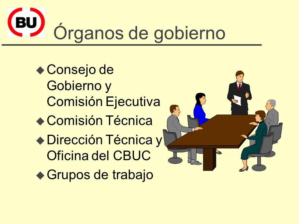 Los miembros del CBUC u Universidad de Barcelona u Universidad Autónoma de Barcelona u Universidad Politécnica de Catalunya u Universidad Pompeu Fabra