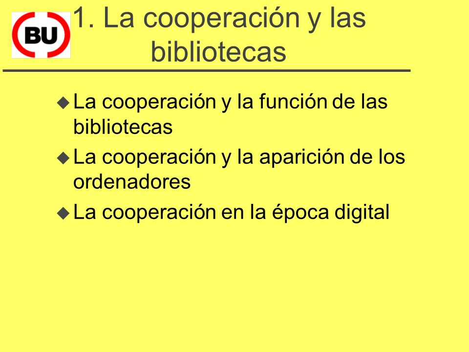 Antecedentes de cooperación u CRUC y CAPS u algunos catálogos colectivos especializados u selección conjunta de un sistema de automatización (UAB-UPC) u interconexión de las bibliotecas de las universidades catalanes u el CCUC