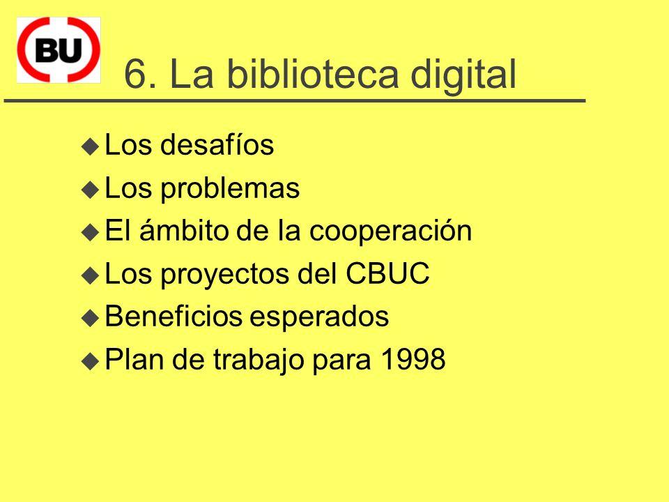El Consorcio de Bibliotecas Universitarias de Catalunya 1.