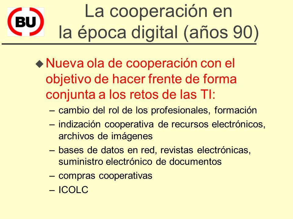 Bibliografía u L.Anglada Cooperació bibliotecària a Espanya, en.