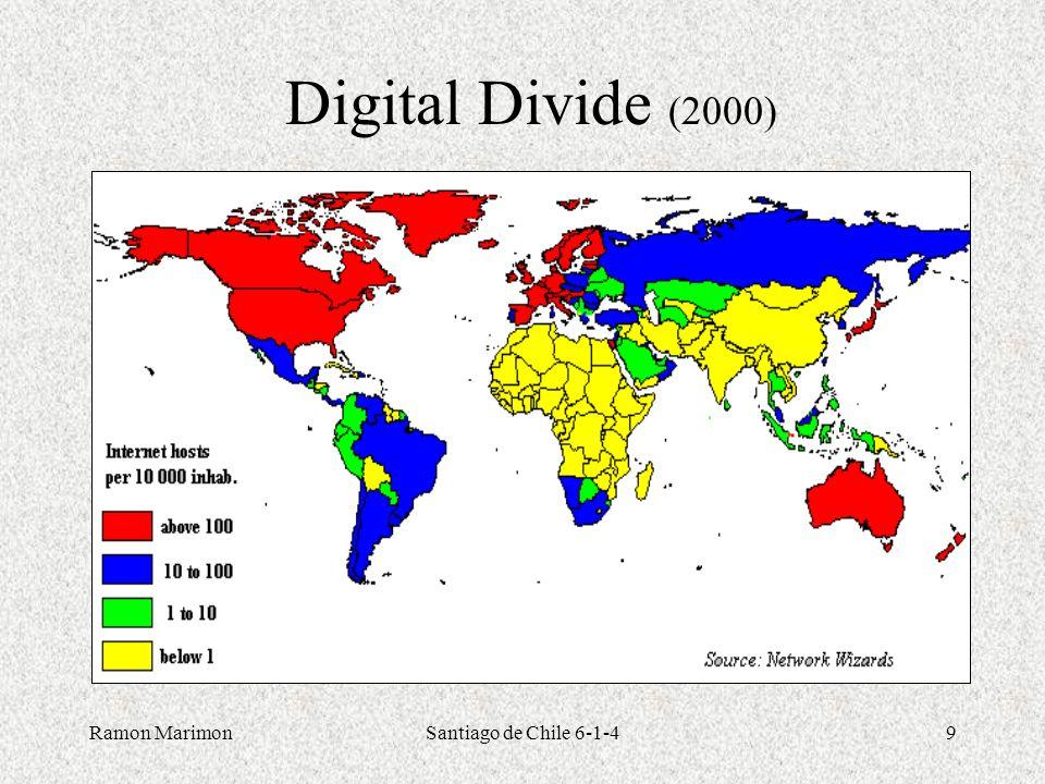 Ramon MarimonSantiago de Chile 6-1-49 Digital Divide (2000)