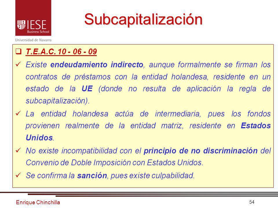 Enrique Chinchilla 54 T.E.A.C.