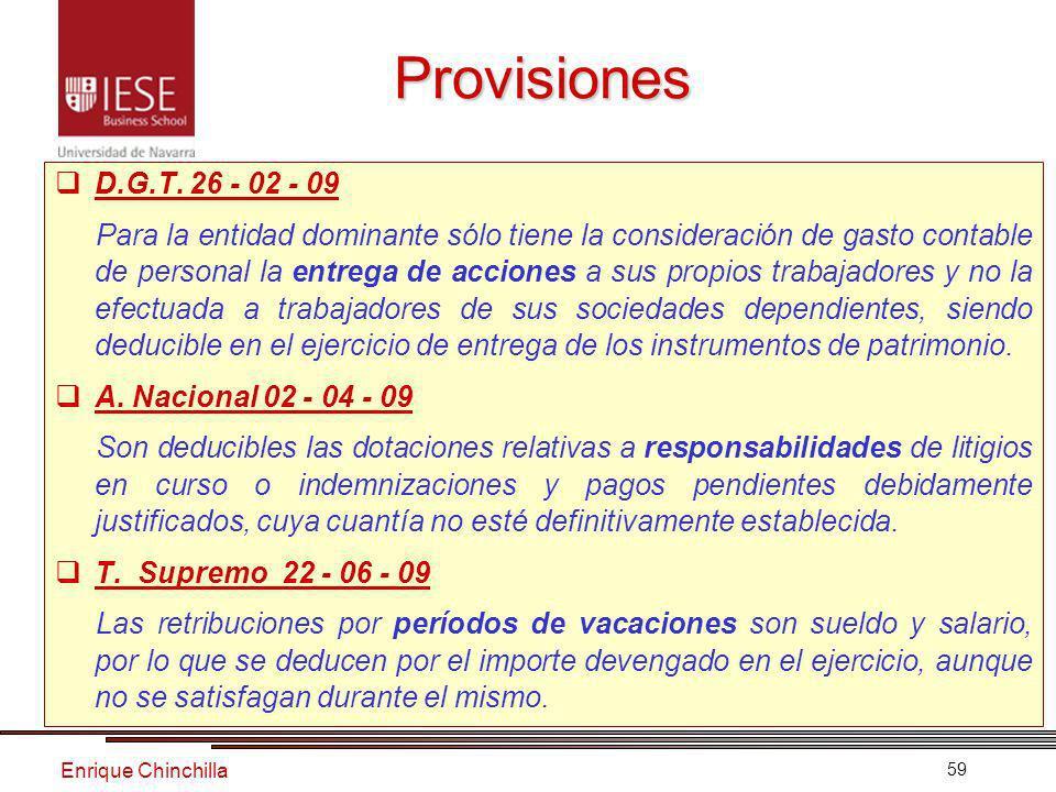 Enrique Chinchilla 59 Provisiones D.G.T.