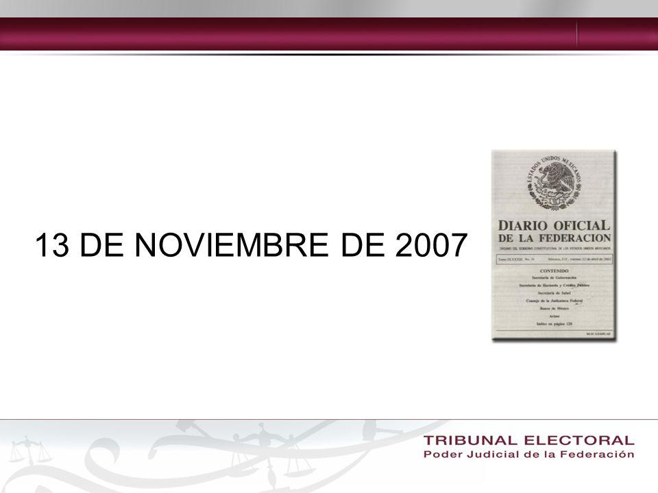 DECRETO que reforma los artículos 6o., 41, 85, 99, 108, 116 y 122; adiciona el artículo 134 y deroga un párrafo al artículo 97 de la Constitución Política de los Estados Unidos Mexicanos.