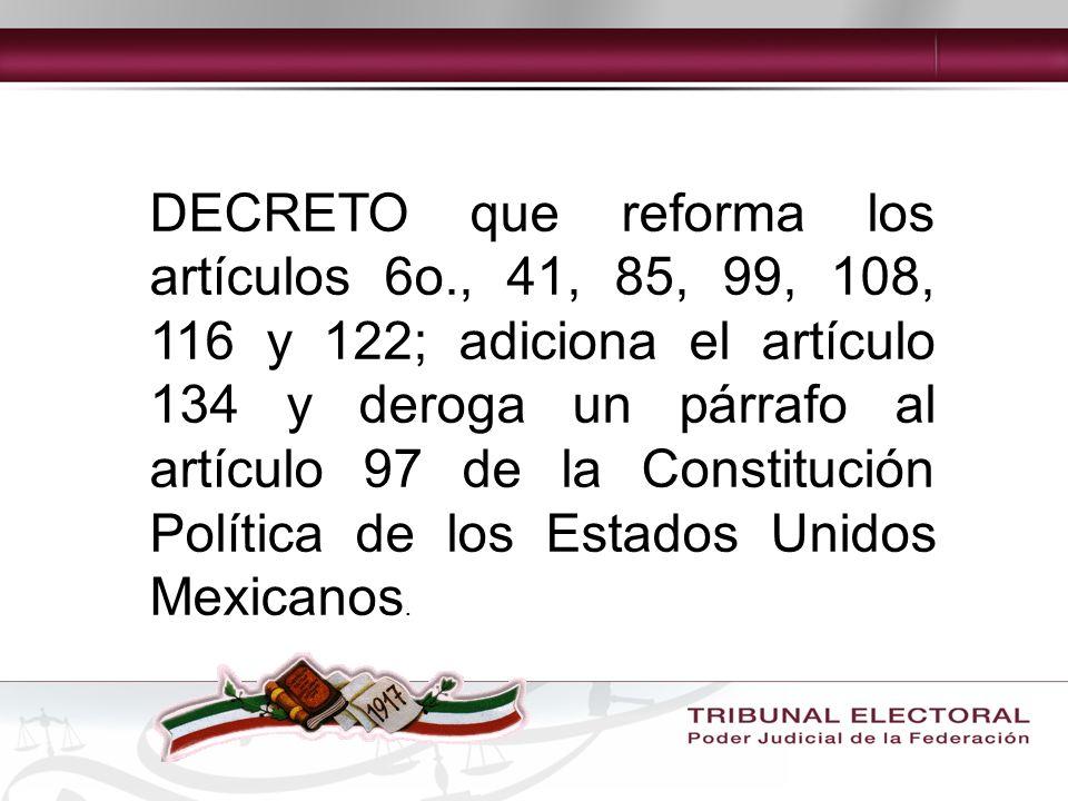 Artículo 116 f) Las autoridades electorales solamente puedan intervenir en los asuntos internos de los partidos en los términos que expresamente señalen; g) Los partidos políticos reciban, en forma equitativa, financiamiento público para sus actividades ordinarias permanentes y las tendientes a la obtención del voto durante los procesos electorales.