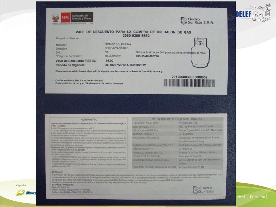 PROCESO DE VALIDACION DE LOS VALES Listado Físico entregado mensualmente a cada Agente Autorizado.