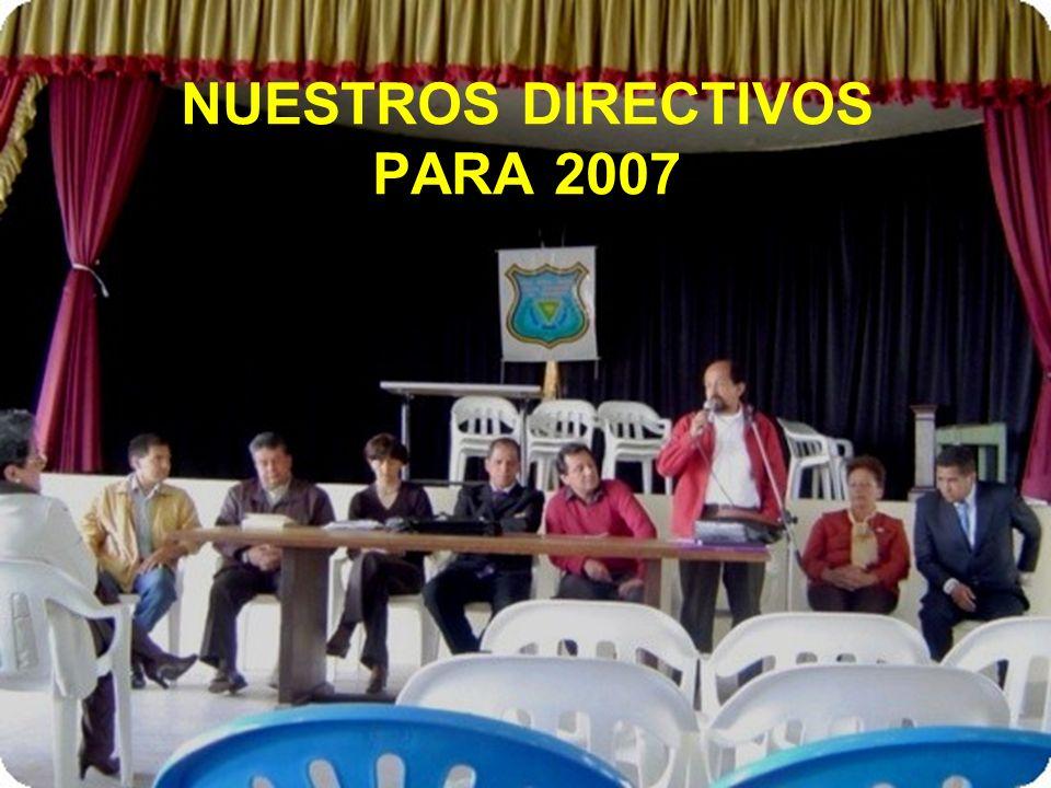 NUESTRO RECTOR EDNAR ALONSO CASTRO HIDALGO ENERO 2007 A LA FECHA