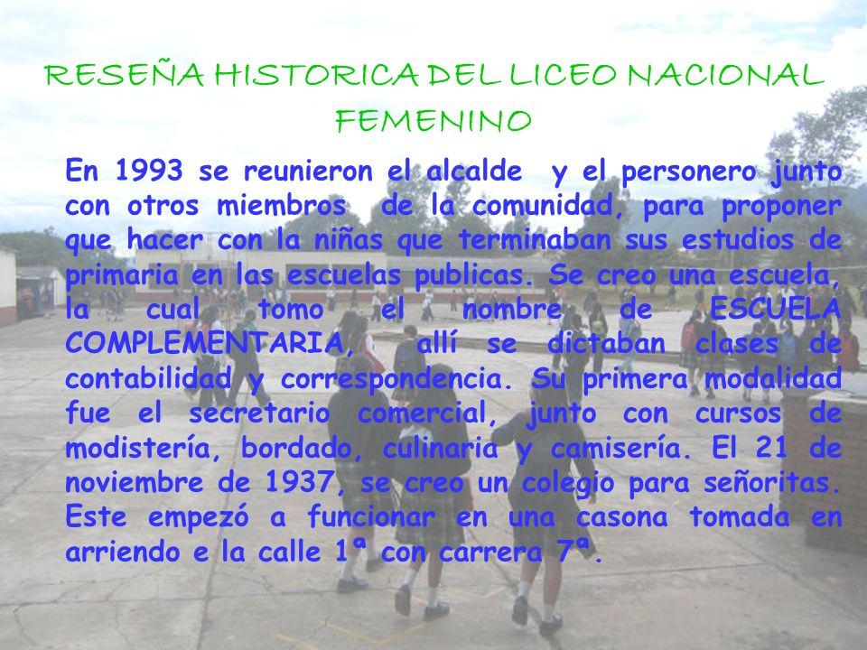 LICEO INTEGRADO DE ZIPAQUIRA La reseña histórica se realiza con el fin de conocer como fue fundada nuestra institución, sus principales sedes y demás.