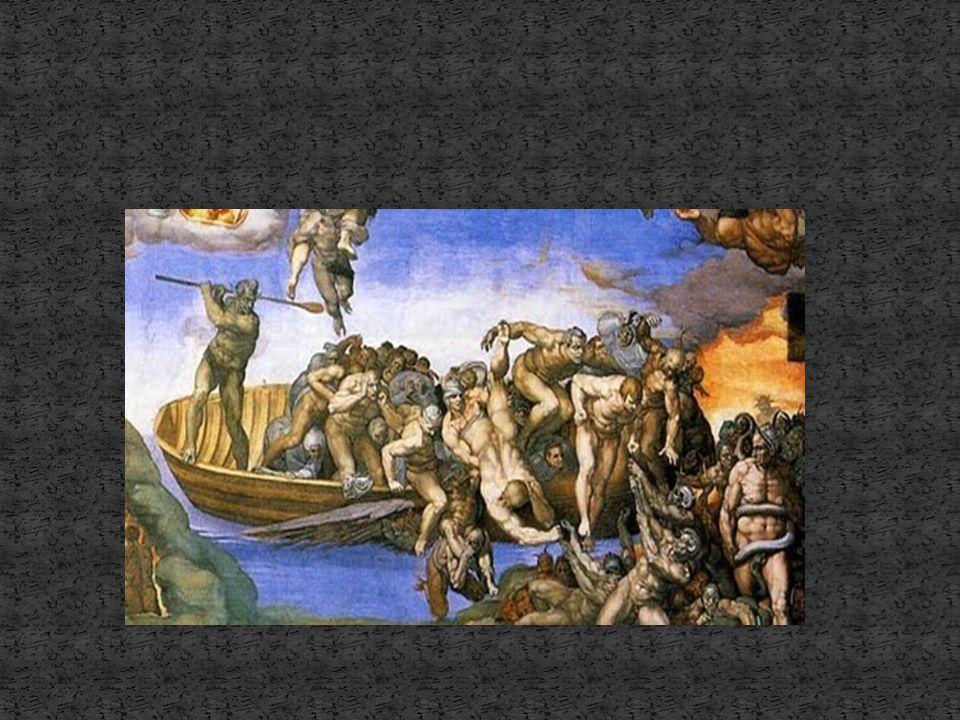 El Testero (Juicio Final) es la última obra pictórica de Miguel Ángel (1535-41). Podemos observar un cambio total. El color es más sombrío, más agrio,