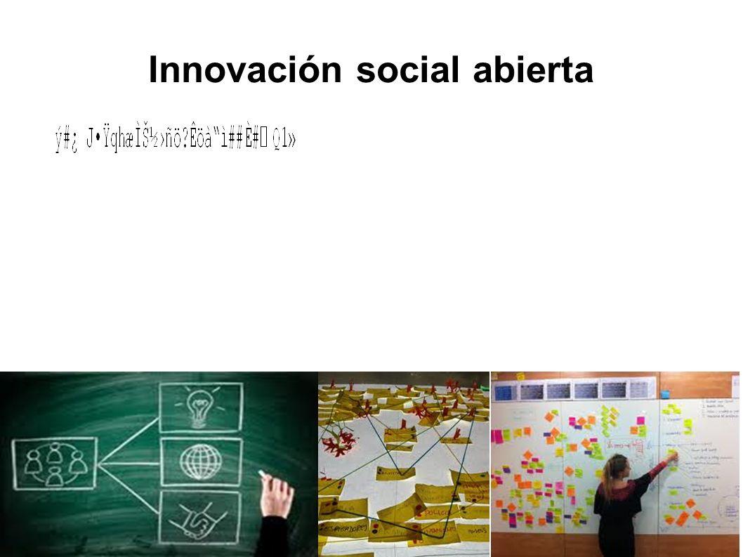 Innovación social abierta