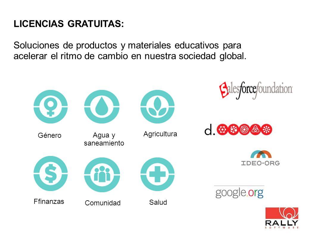 LICENCIAS GRATUITAS: Soluciones de productos y materiales educativos para acelerar el ritmo de cambio en nuestra sociedad global. Agua y saneamiento S