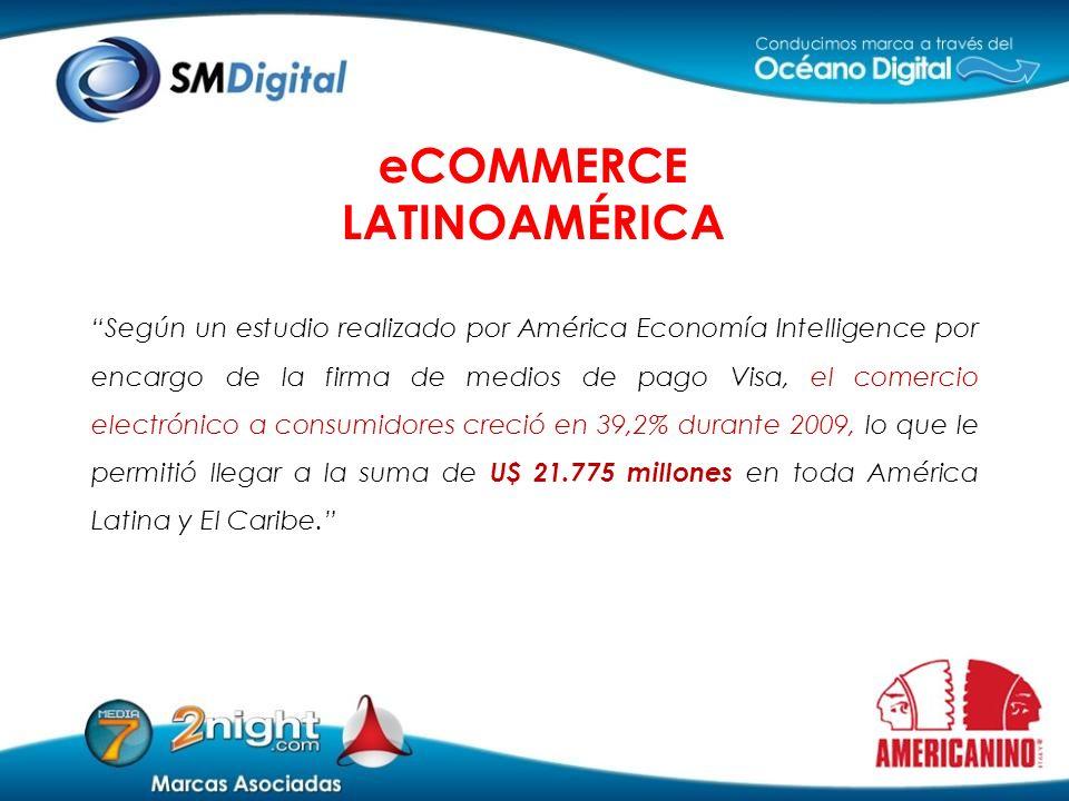 Según un estudio realizado por América Economía Intelligence por encargo de la firma de medios de pago Visa, el comercio electrónico a consumidores cr