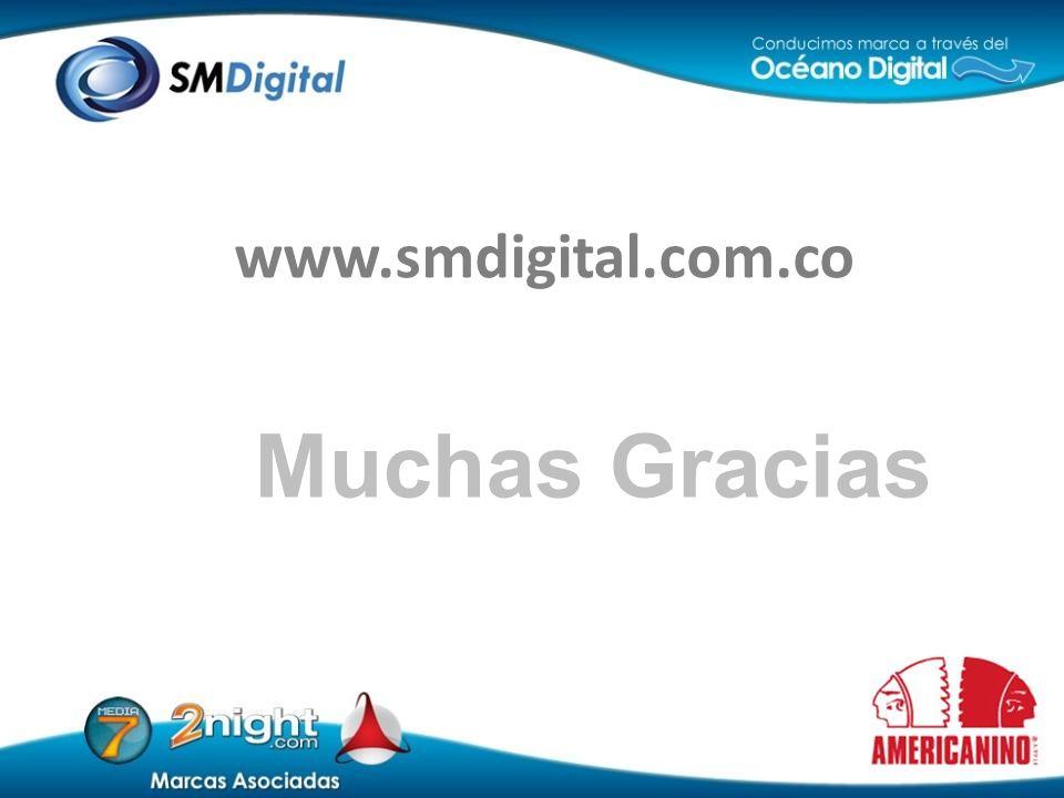 Muchas Gracias www.smdigital.com.co