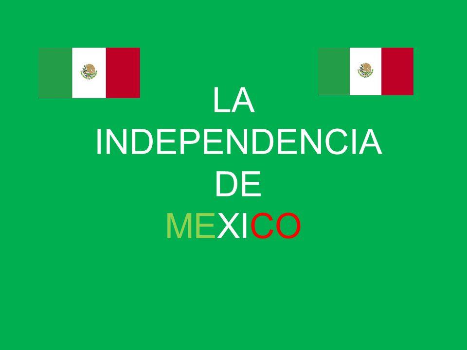 LINEA DE TIEMPO INDEPENDENCIA DE MEXICO 1816 MAYO Javier Mina y Fray Servando Teresa de Mier zarpan de Liverpool rumbo a América.