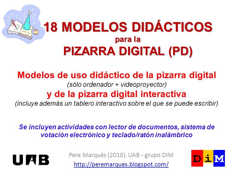 España 2012: todas las aulas tendrán pizarra digital La magia de la pizarra digital… la pones tú ¿Quien teme el busca, copia y pega de Internet.