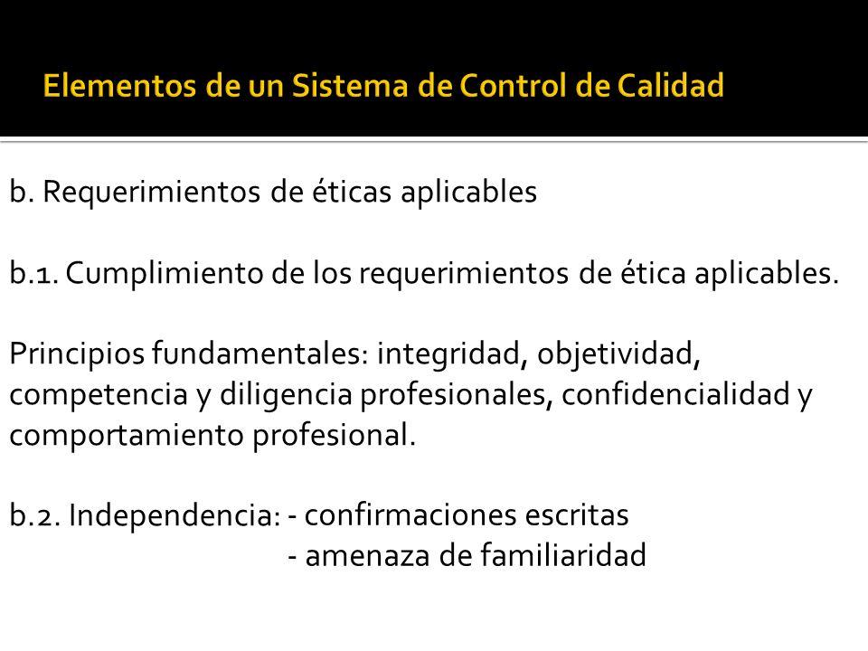 a. Responsabilidad de liderazgo: a.1. Fomento de una cultura interna orientada a la calidad a.2. Asignación de la responsabilidad relativa al funciona