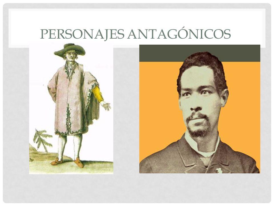 PERSONAJES ANTAGÓNICOS
