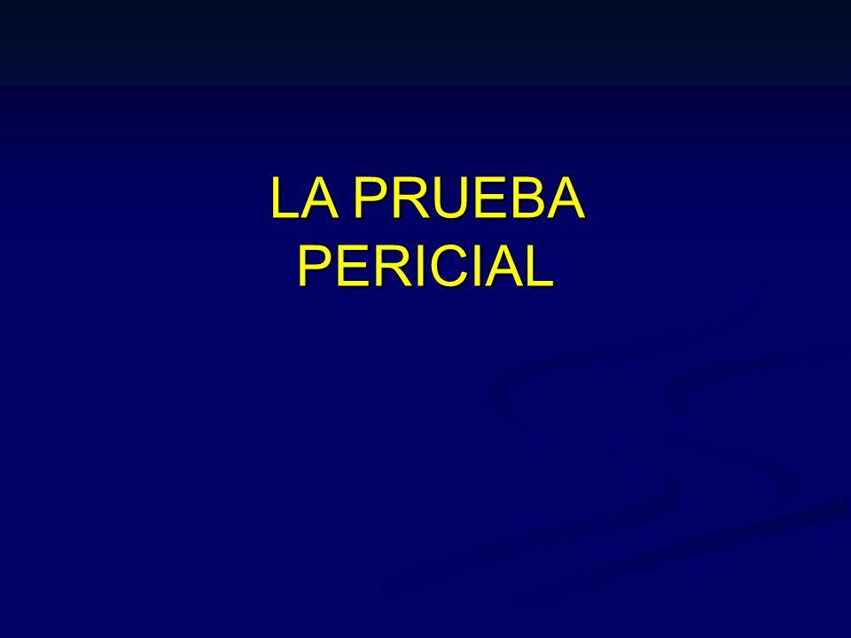 PROCEDIMIENTO DE DESIGNACION Y OBLIGACIONES DEL PERITO