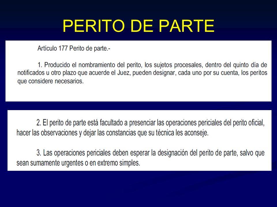 PERITO DE PARTE