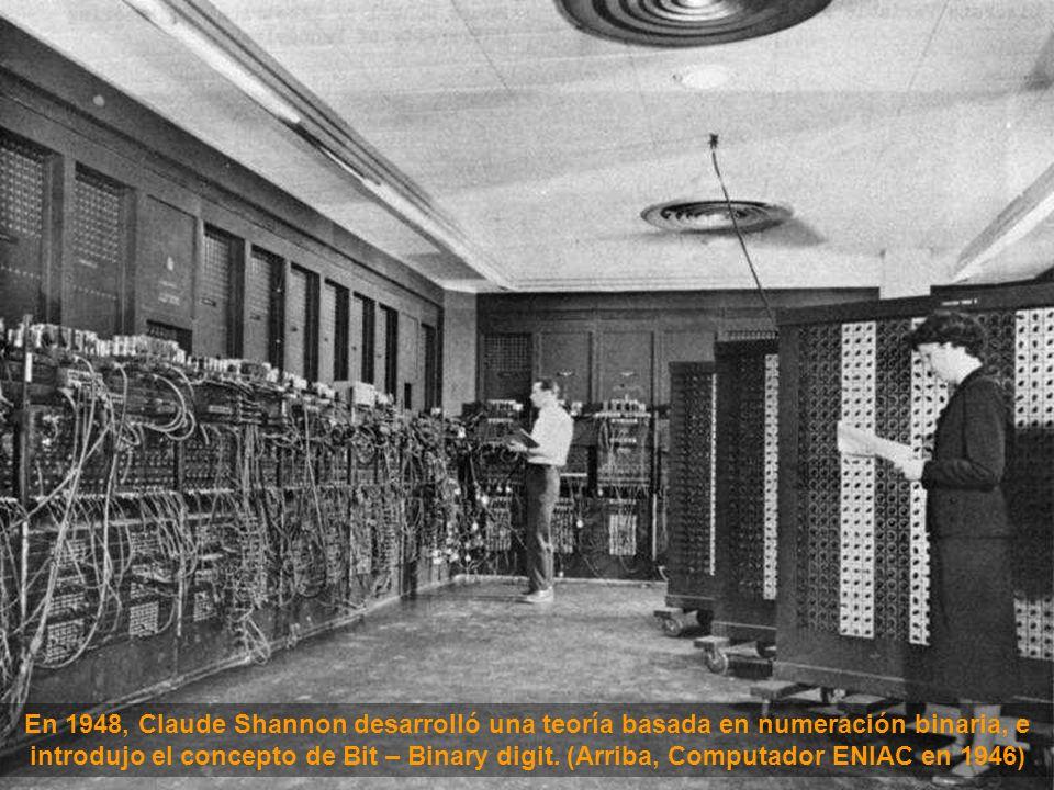 Usado para fines bélicos, el primer computador automático contenía 750.000 partes, unidas por aproximadamente 80 km de cables.