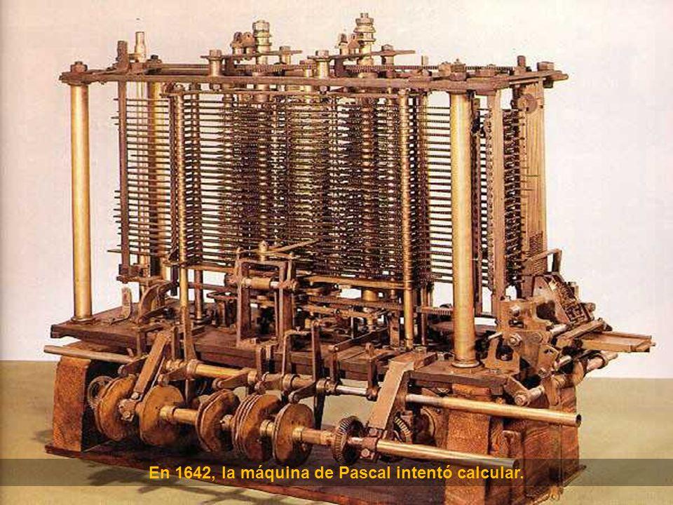 En 1622 apareció la Regla de Cálculo.