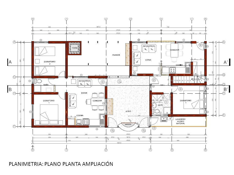 PLANIMETRIA: PLANO PLANTA AMPLIACIÓN