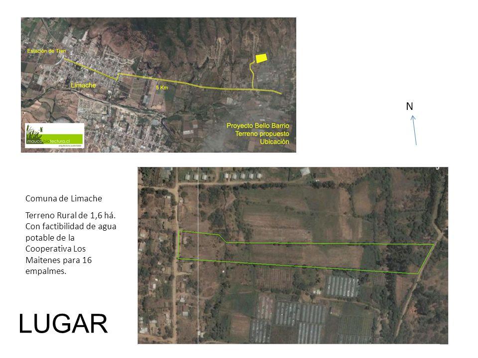 Comuna de Limache Terreno Rural de 1,6 há. Con factibilidad de agua potable de la Cooperativa Los Maitenes para 16 empalmes. LUGAR N