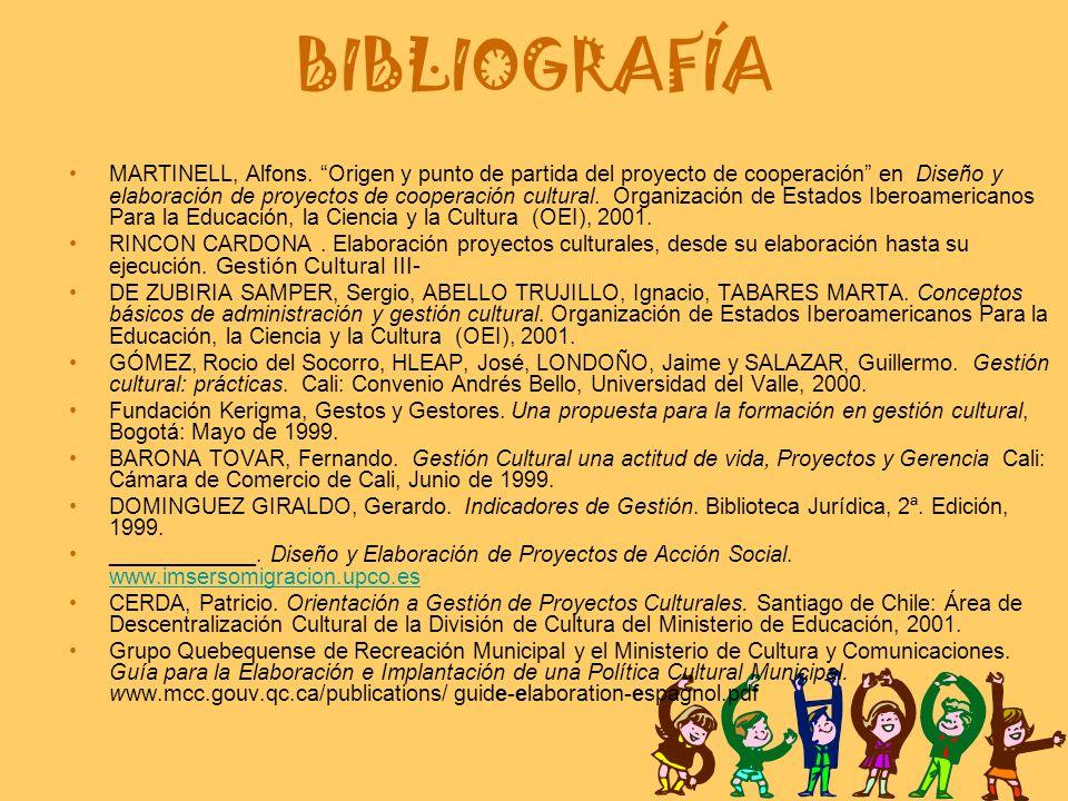 BIBLIOGRAFÍA MARTINELL, Alfons.